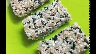 Refined Sugarfree No Bake Energy Bars: Gluten Free, Nutritious, Healthy