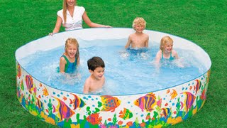 Intex 8-ft X 18-Inch Sun Fish Snapset Pool Review