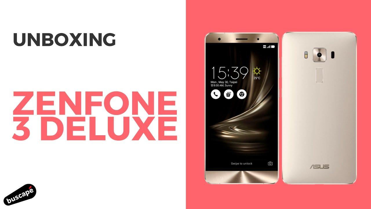 dda264061 Unboxing do Asus Zenfone 3 Deluxe - YouTube