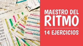 5. Aprende Ritmo con 14 Ejemplos - Ligadura, Puntillo, Stacc...