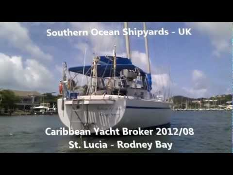 Sailing Yacht Southern Ocean Shipyards Poole UK 60 Ft Schooner YouTube