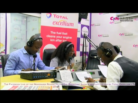 Newspaper Review on the Citi Breakfast Show (Tuesday, June 5, 2018)