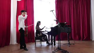 Szymanowski Violin Sonata Op.9 in D minor시마노프스키 바이올린 소나타 작품 9 라단조 옥선재 바이올린
