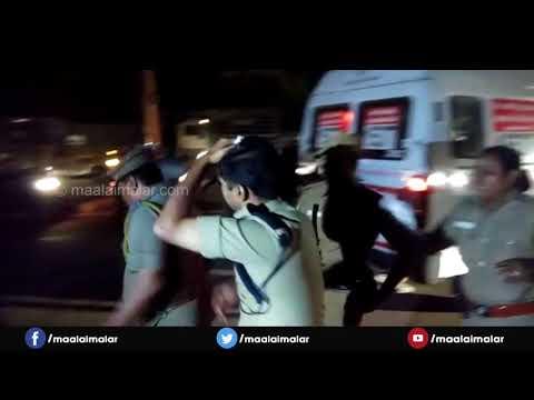 Kancheepuram SP Injured As Mob Attacks Police