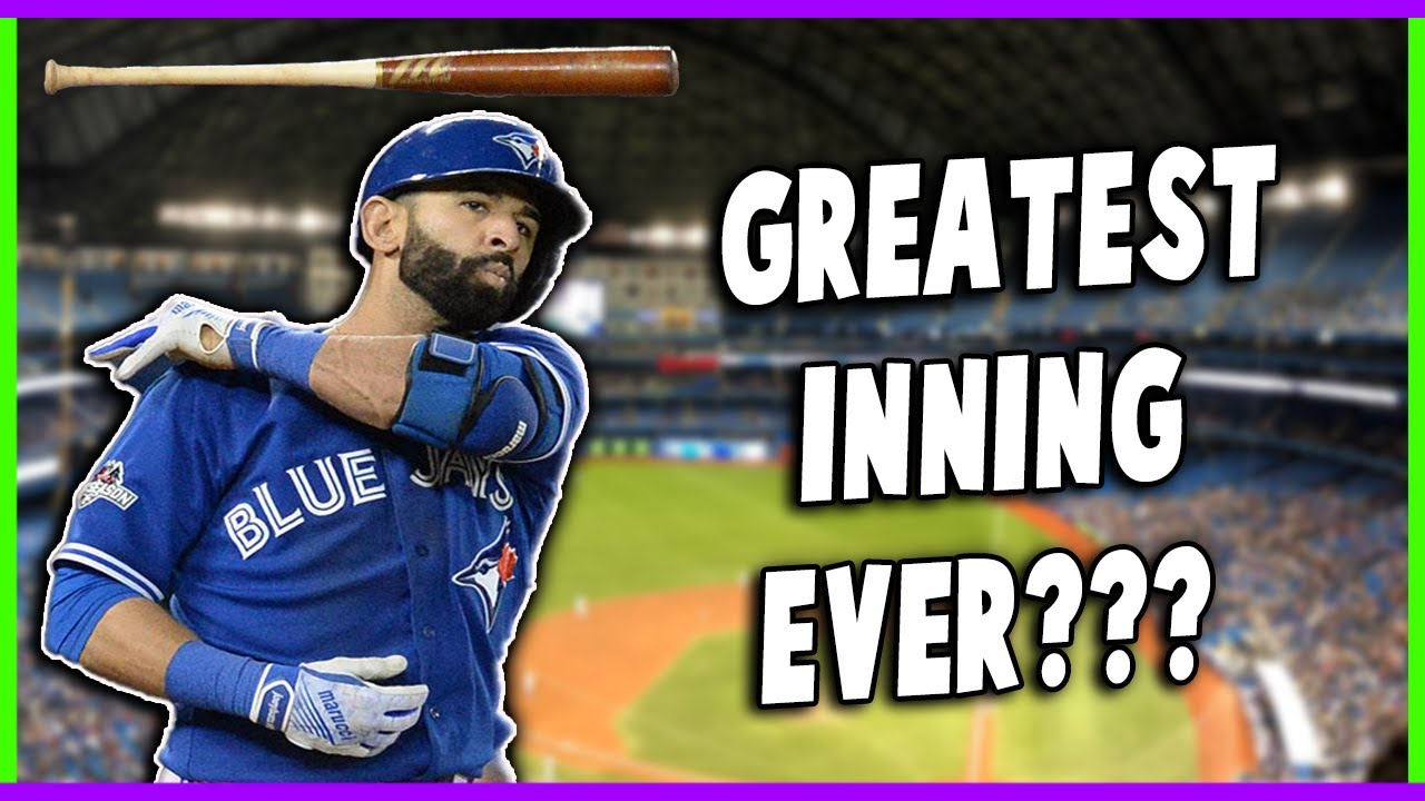 Download The Inning Capped Off By Jose Bautista's Iconic Home Run Was Just Flat-Out INSANE!