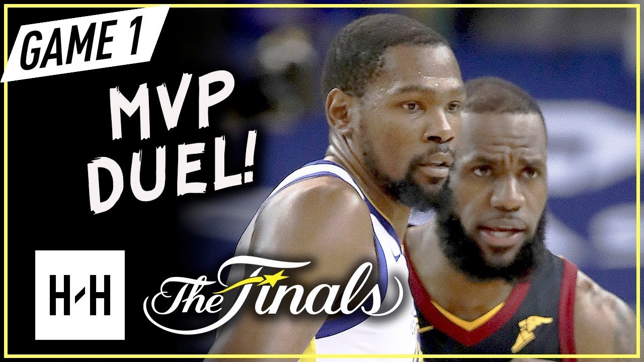 55d3f4e007e LeBron James vs Kevin Durant MVP Game 1 Duel Highlights (2018 NBA Finals) -  LBJ with 51 Pts!