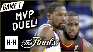 LeBron James vs Kevin Durant MVP Game 1 Duel Highlights (2018 NBA Finals) - LBJ with 51 Pts!