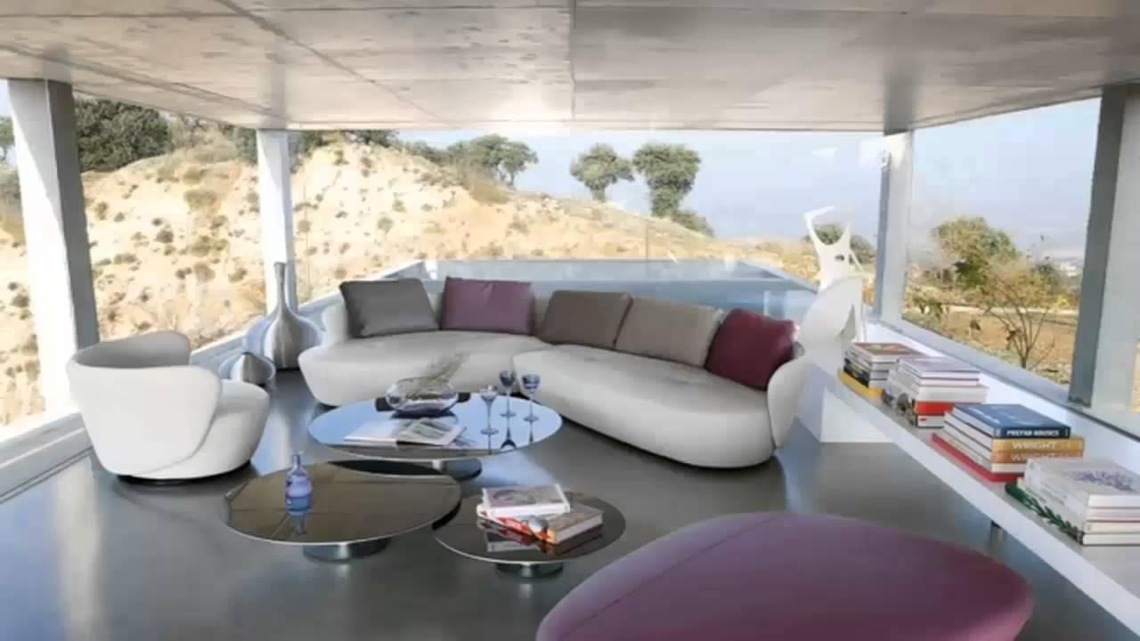 De fraaiste ontwerpen zitkamers youtube - Interieurdesign ideeen ...