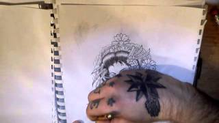 How To Draw] Geisha - Monocrome [INK FREAKZ© & FTA&D™]