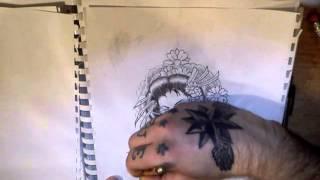 How To Draw] Geisha - Monocrome [INK FREAKZ© & FTA&D™]