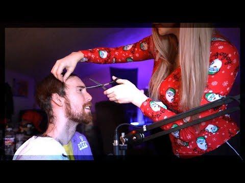 Asmongold's Girlfriend Cuts His Hair (Asmongold's Hair is GONE