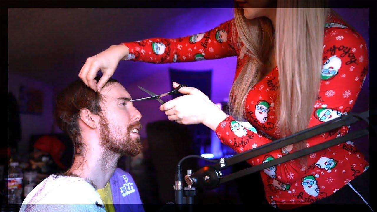 Asmongold S Girlfriend Cuts His Hair Asmongold S Hair Is