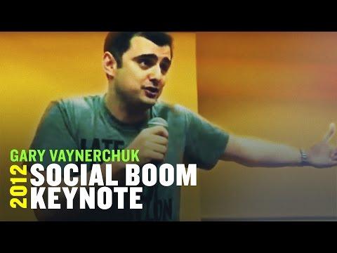 Gary Vaynerchuk Social Boom Keynote | 2012