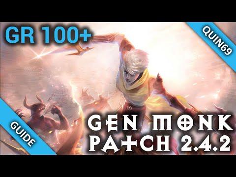 D3: GR100+ R6 Generator Monk (2.4.2 | Raiment | Season 7)