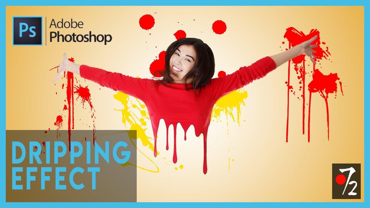 Adobe Photoshop CC - Tutorial Dripping Effect [ITA], Studio72