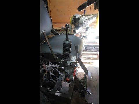 Самодельный джойстик на гидрораспределитель Р40