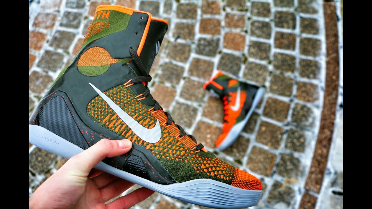 Nike Kobe 9 Elite Strategy - Review + On Foot - YouTube 373808112