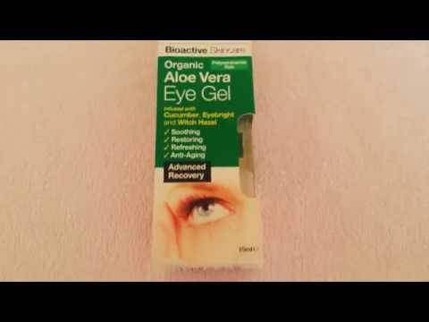 Dr. Organic Aloe Vera Eye Gel - Review - Bio Active Skin Care