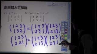 ガロアの理論と生涯2ー対称群と可解群