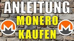 💰 MONERO KAUFEN Anleitung von A-Z 🔥 Tutorial für Anfänger [deutsch]