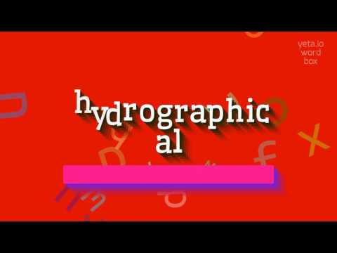 """How to say """"hydrographical""""! (High Quality Voices)"""