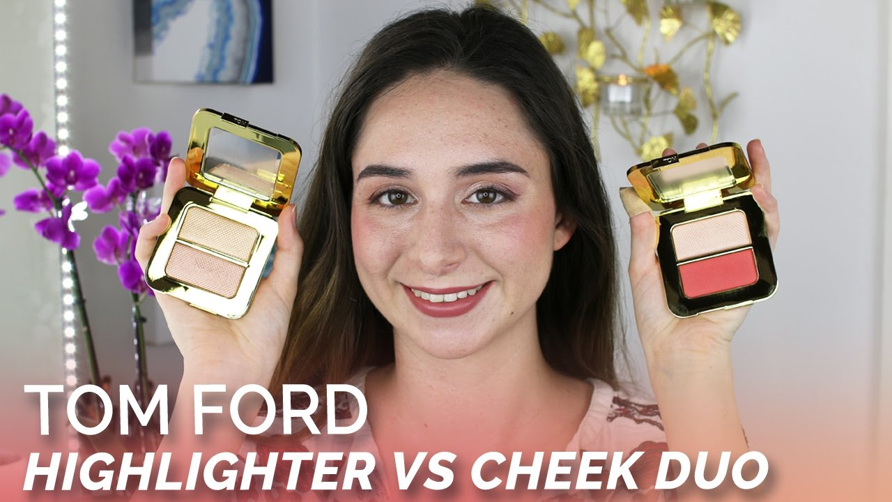tom ford highlighter vs cheek duo youtube. Black Bedroom Furniture Sets. Home Design Ideas