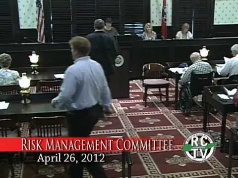 Risk Management Committee - April 26, 2012