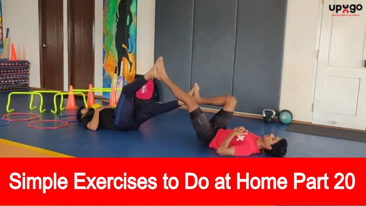 Simple Exercises To Do At Home Part 20 Simple Exercises For Kids Kids Exercise Video 2020 Youtube