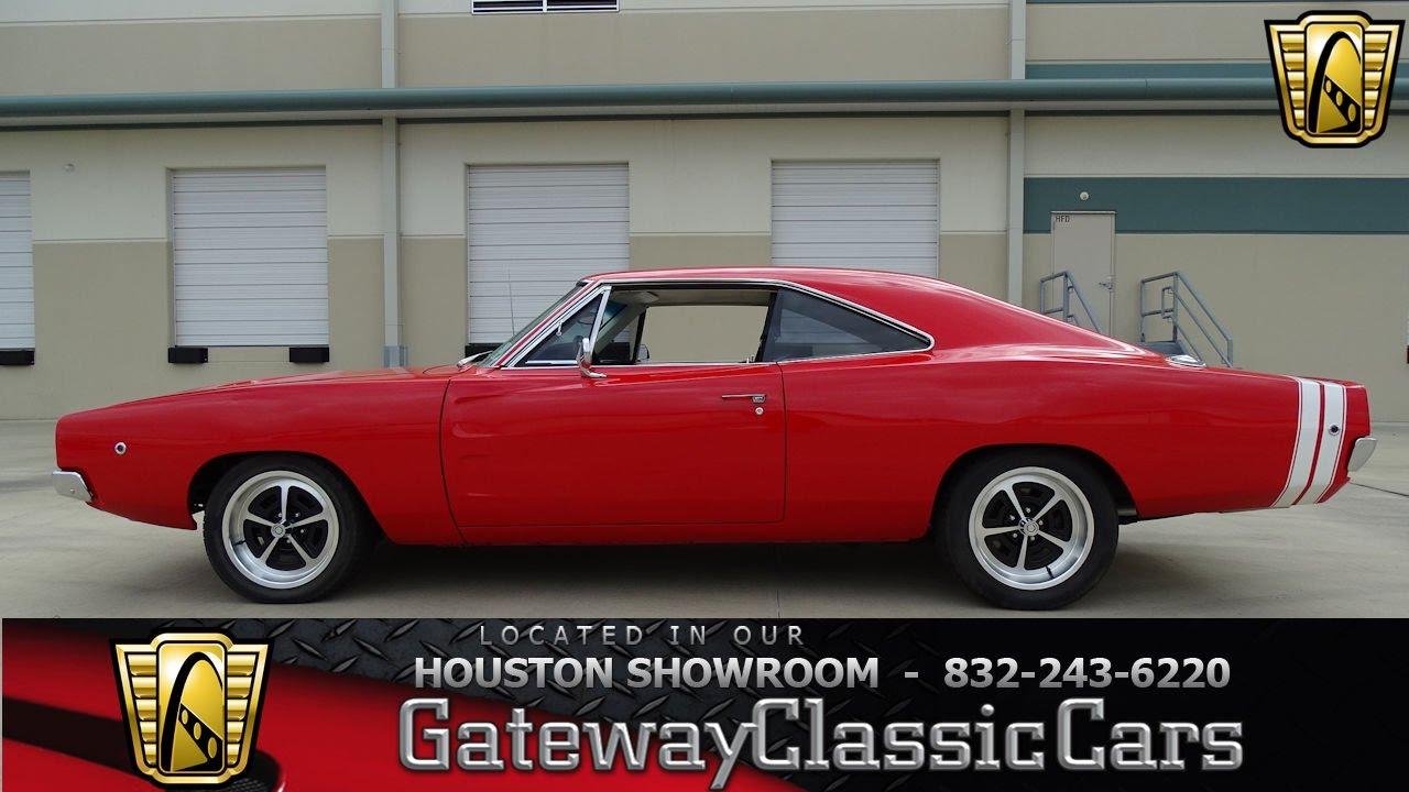 1968 Dodge Charger Gateway Classic Cars 686 Houston Showroom