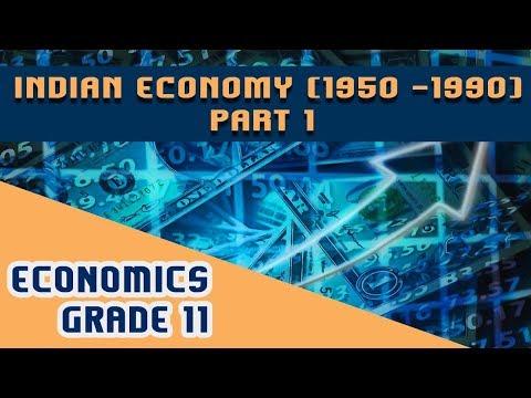 Economics Chapter 2   Part 1   Indian Economy (1950 -1990)