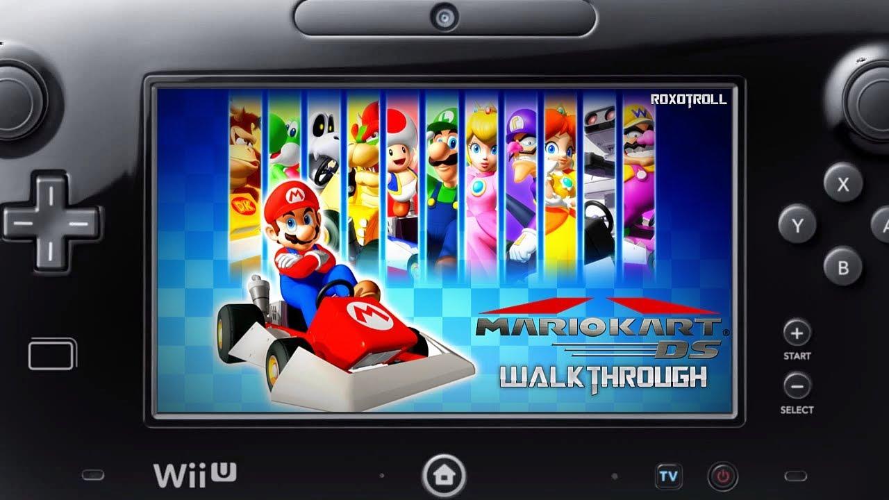 Mario Kart: DS - Walkthrough -Mushroom Cup 150cc MIRROR MODE