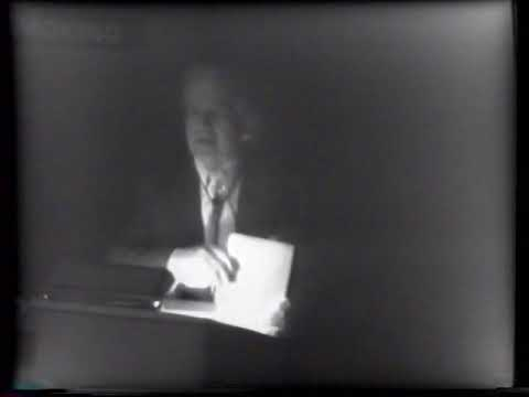 Konrad Wachsmann: On Charles Eames (1978) Part 1 of 2