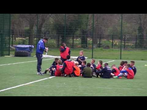 Playing Out From The Back Academy (U12) Full Session