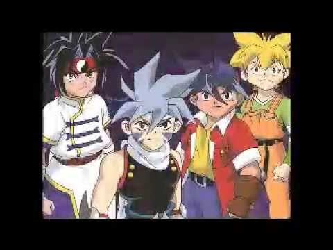Beyblade japanese soundtrack - CHEER SONG (music ripped like a karaoke)