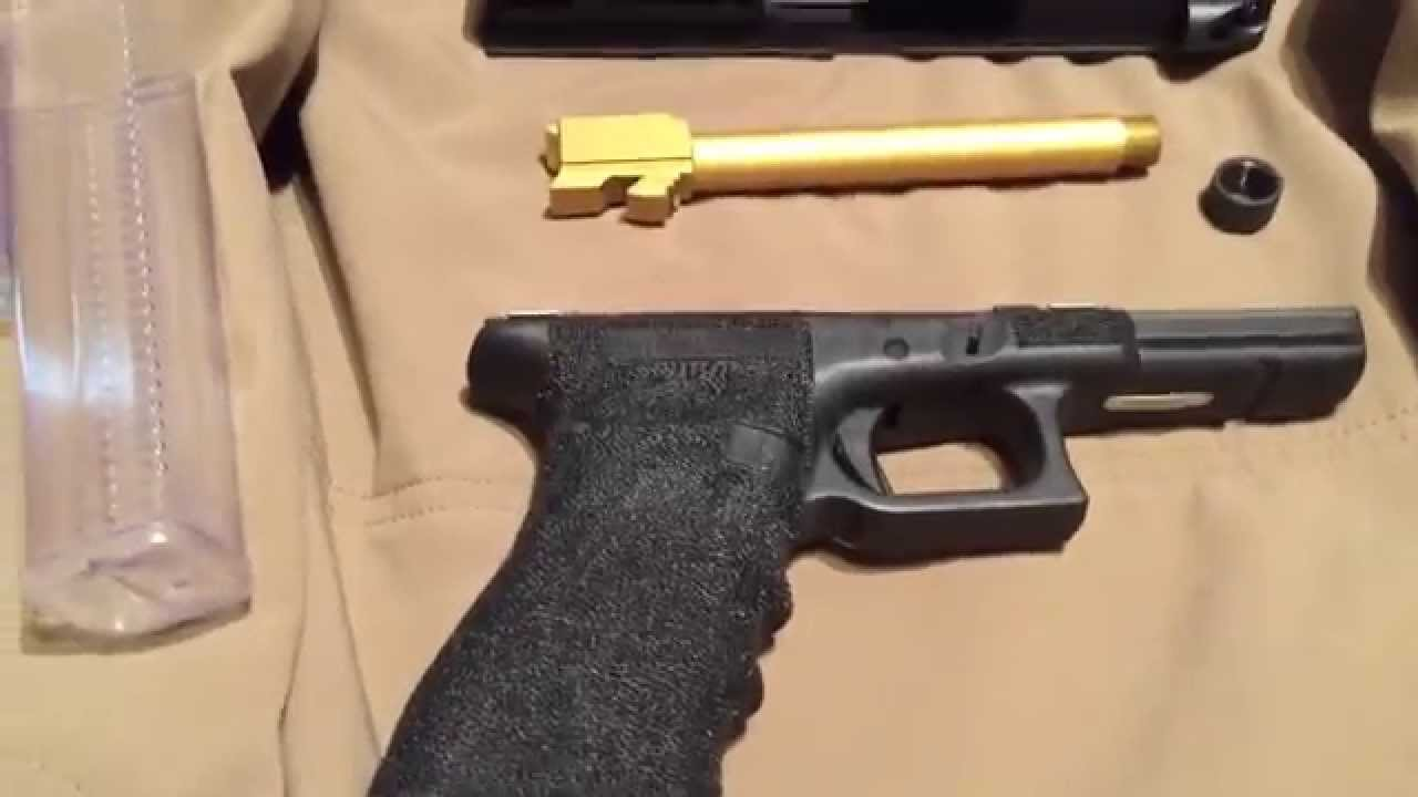 (Part4) Custom Glock build, all parts are done!!