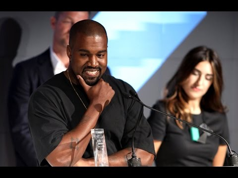 "Kanye West Honored at the ""Shoe Oscars"""