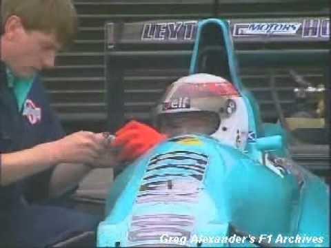 Sir Jackie Stewart Testando March Judd de 1988