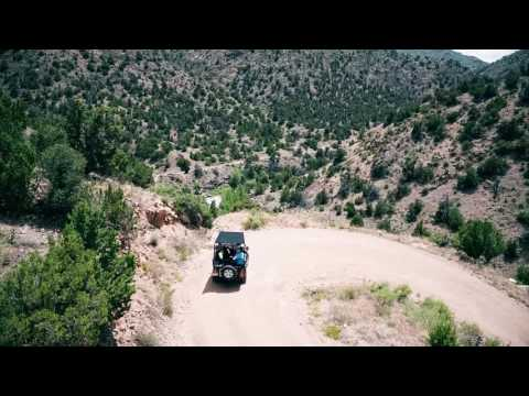 Colorado Jeep Tours Drone Video