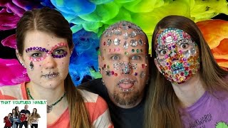 Full Face of Rhinestones / That YouTub3 Family