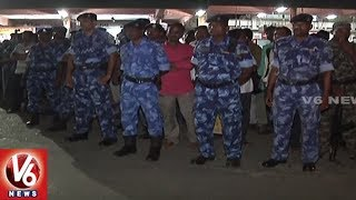 Octopus And Rapid Action Force Conducts Mock Drill In Karimnagar | V6 News