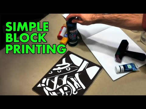 Simple Block Printing — [tutorial]