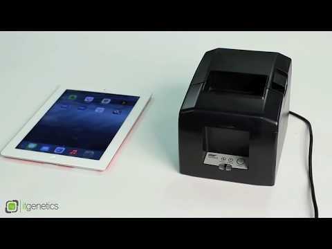 Imprimanta termica Star TSP654IIBl, Bluetooth - conectare la tableta iPad