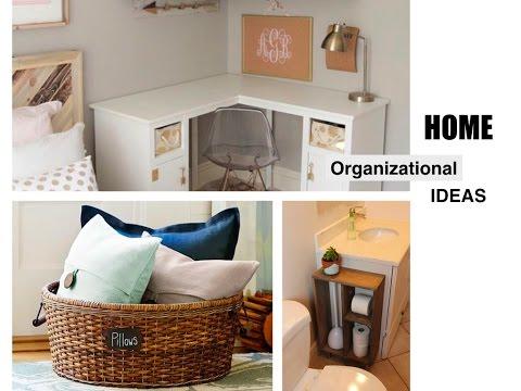 COMO ORGANIZAR TU CASA  HOME ORGANIZATION  25 TIPS  YouTube