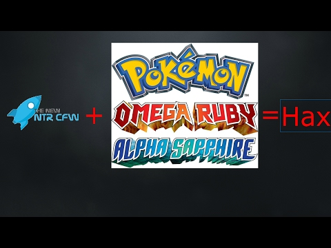Ntr cfw Plugin Tutorial For Pokemon Or,As,X,Y
