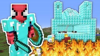 ZENGİN VS FAKİR ÖRÜMCEK ADAM #23 - Fakir Yangın Çıkardı (Minecraft) Video