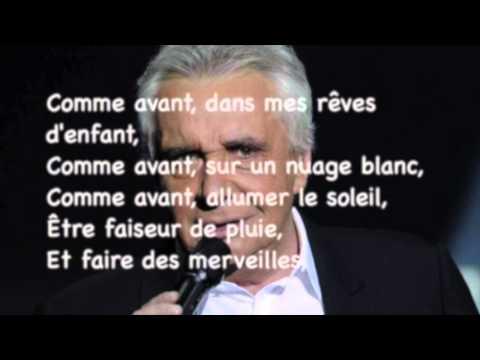 Michel Sardou - L'aigle noir avec lyrics