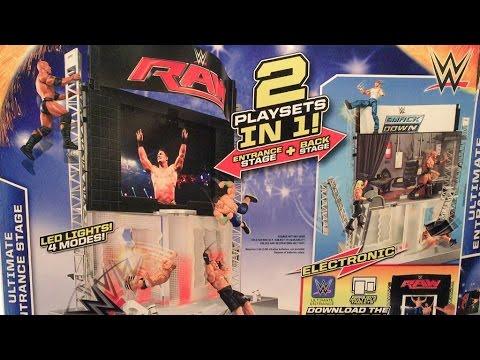 WWE ACTION INSIDER: Ultimate ENTRANCE Stage MATTEL Wrestling Figure Playset REVIEW