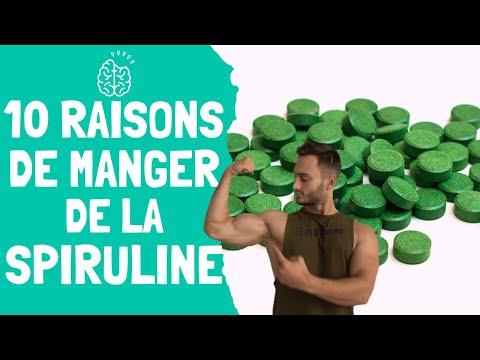 Spiruline Vente : Achat  - Comprimés - Danger |  Quels sont les bénéfices