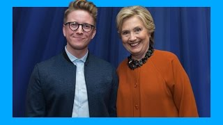 Meeting Future Madam President (ft. Hillary Clinton) | Tyler Oakley