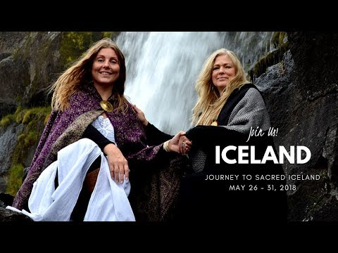 Sacred Journey to Iceland with Madeleine Marentette Grail Springs Canada
